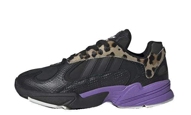 adidas Yung-1 Black Purple FV6447