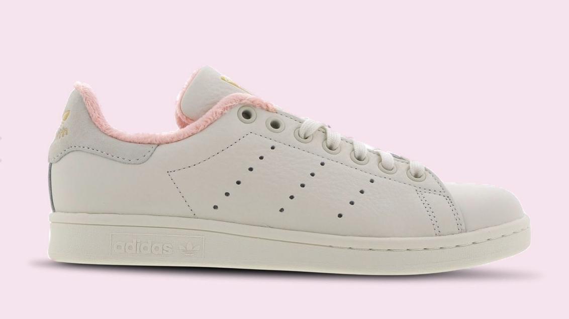 adidas stan smith pink white