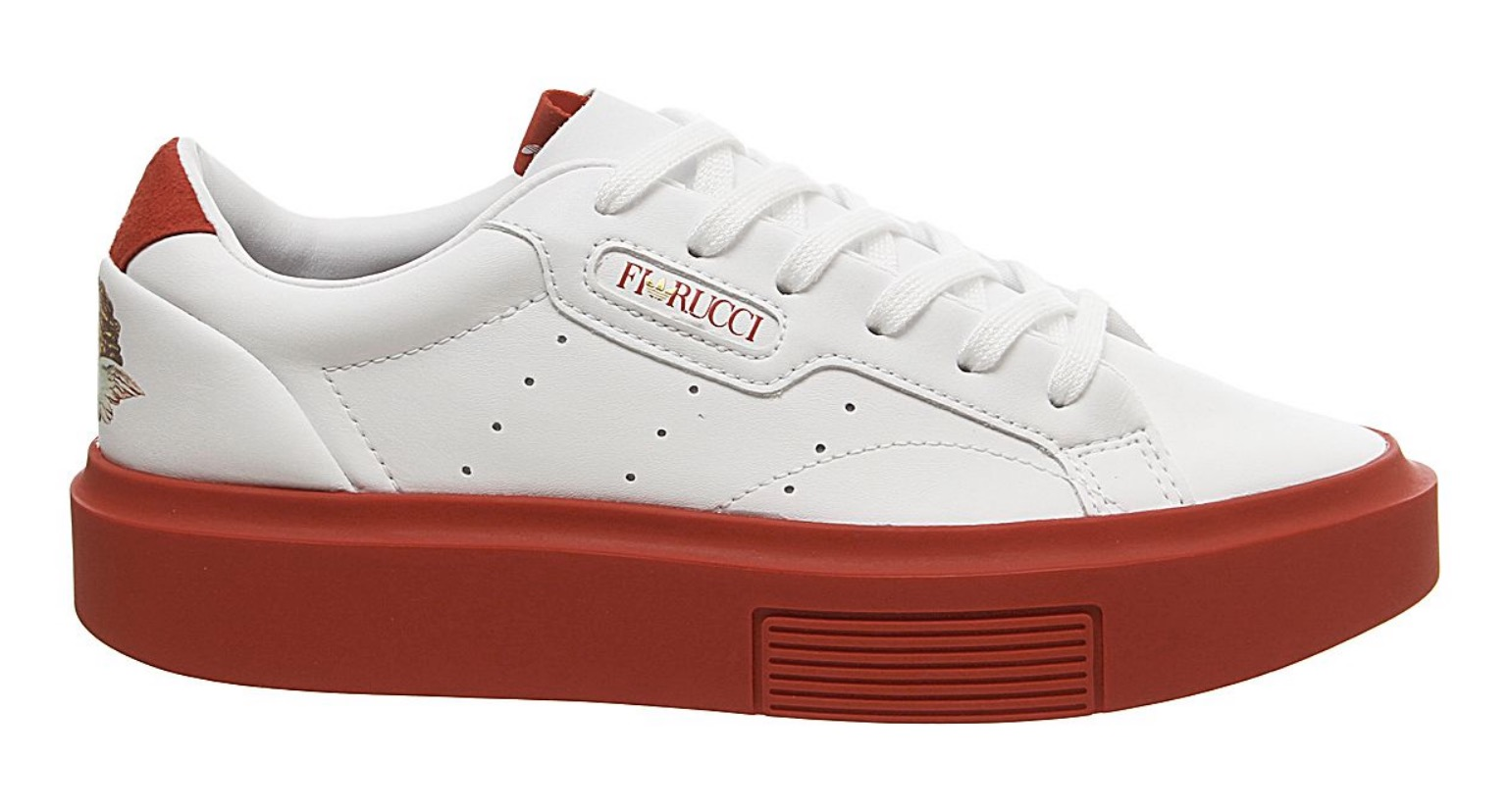 adidas x Fiorucci Sleek Super White Red