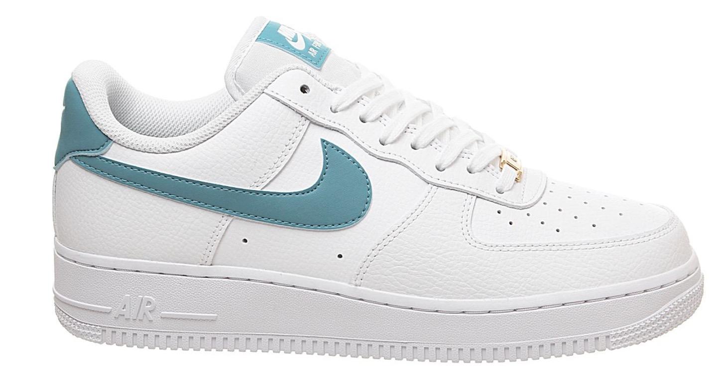 air force 1 teal white