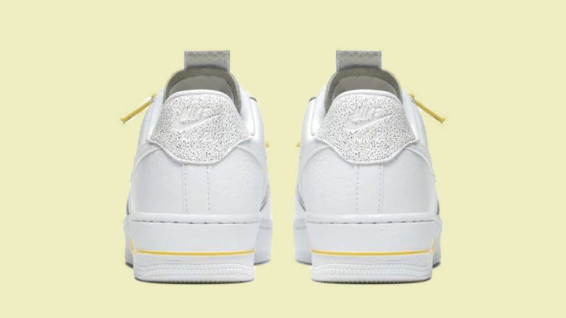 air force 1 utility. white yellow