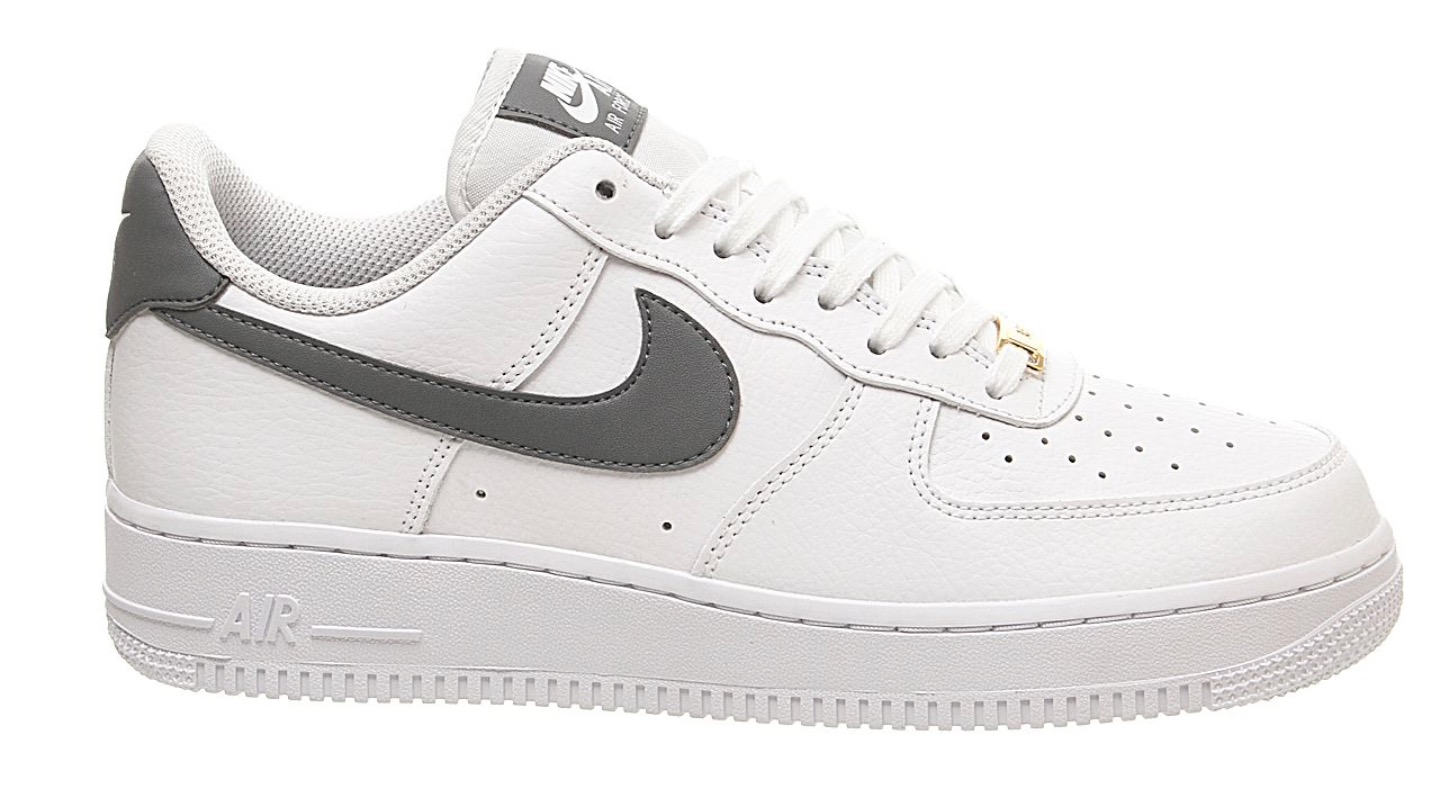 air force 1 white grey