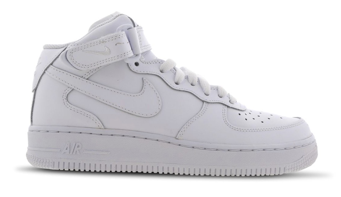 nike air force 1 white mid