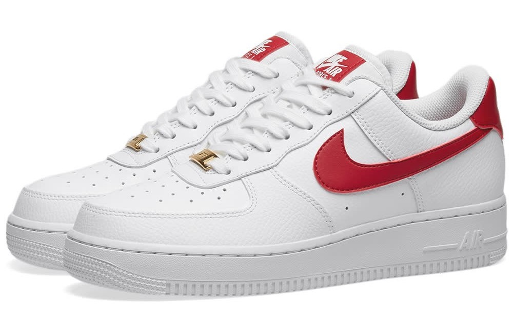 nike air force 1 white red.