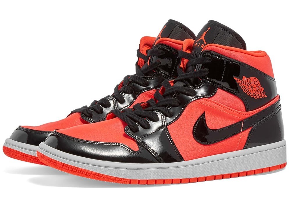 nike air jordan 1 red black