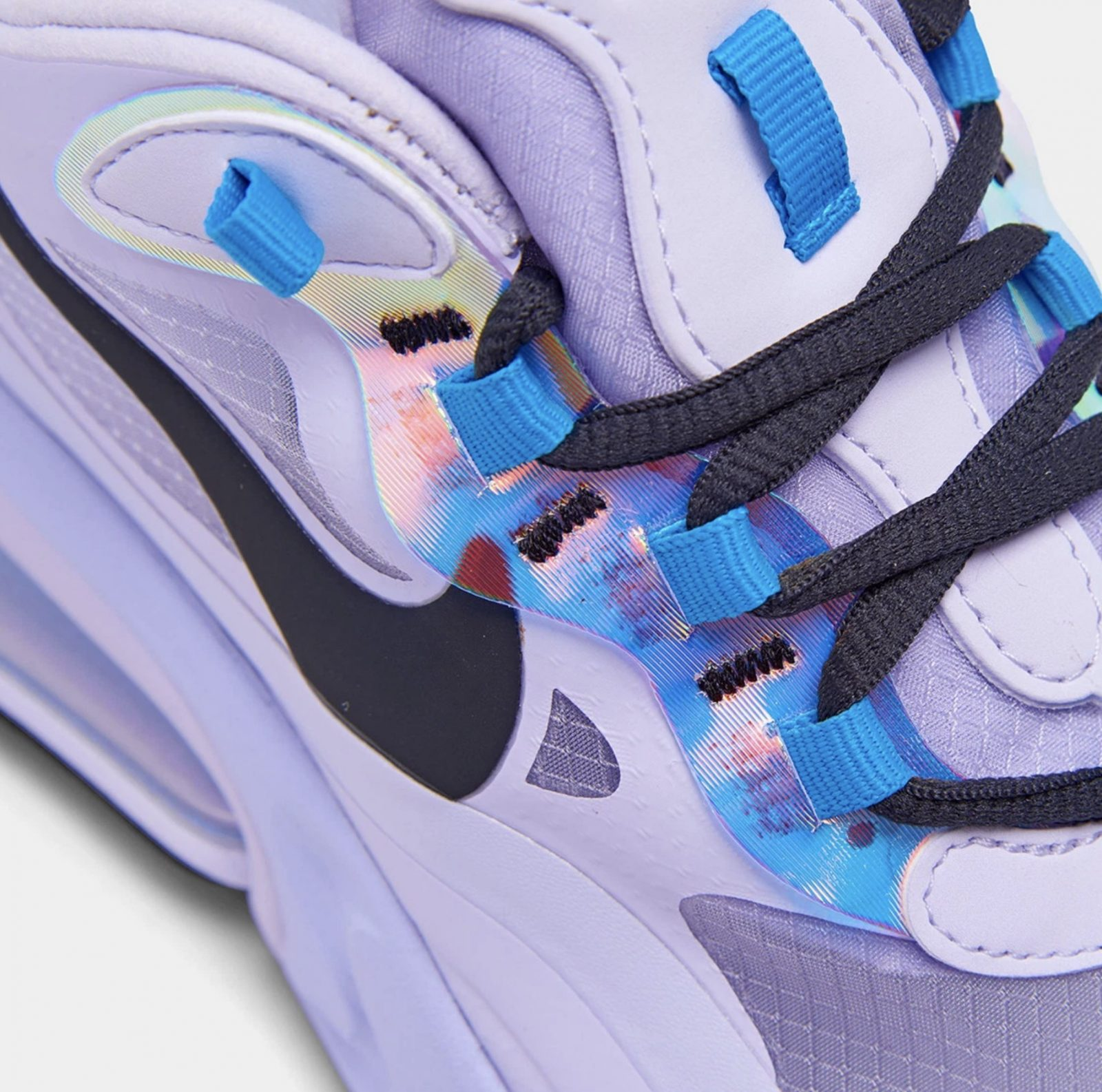 Purple Hues Cover This Nike Air Max 270 React Amethyst Tint With