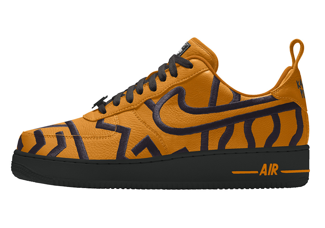 nike-karabo-poppy-nike-by-you-air-force-1 orange