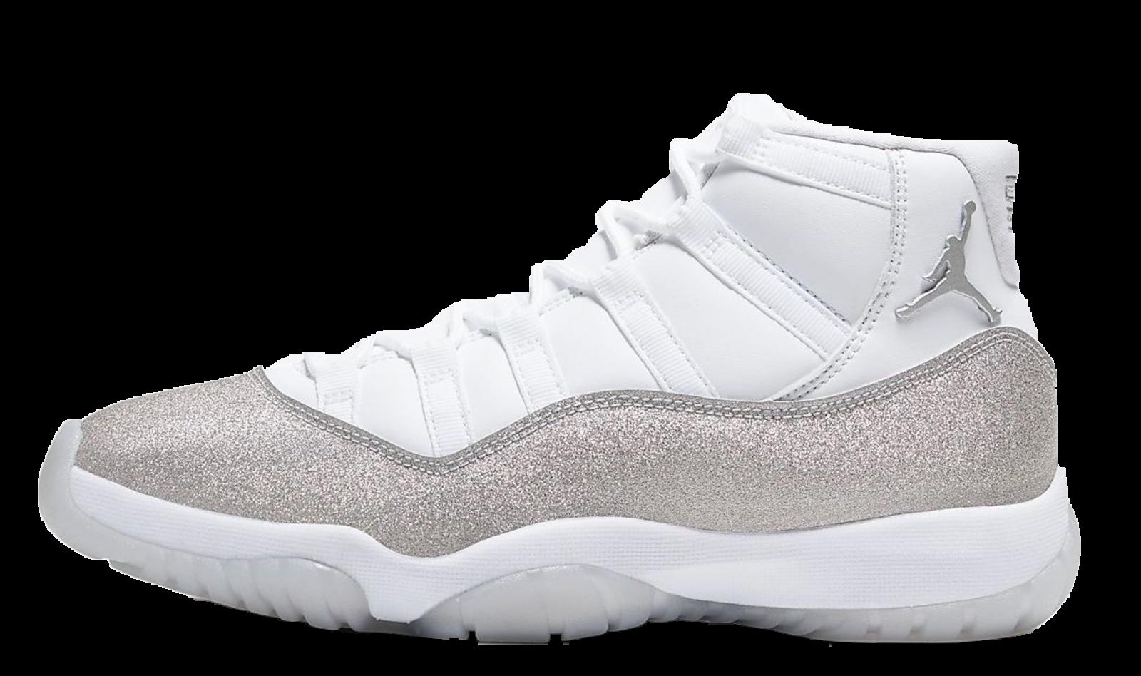 Air Jordan 11 Retro White Metallic Silver | AR0715-100