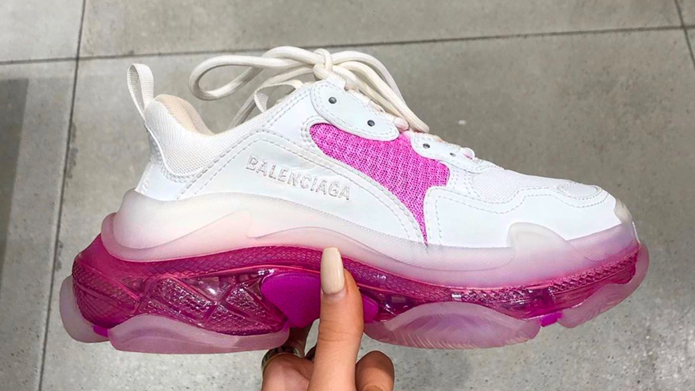 This Pink Balenciaga Triple S Could Be The Prettiest Yet