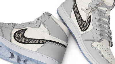 Dior x Air Jordan 1 High OG White Grey   Where To Buy   CN8607-002 ...