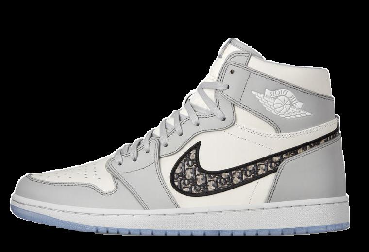 Dior x Nike Air Jordan left thumbnail image