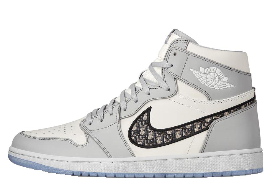 Dior x Nike Air Jordan left
