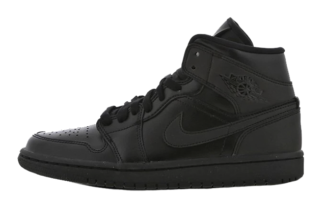 Jordan 1 Mid Black BQ6472-012