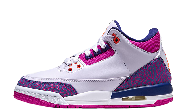 Jordan 3 GS Barely Grape 441140-500