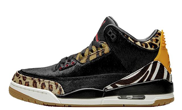 Jordan 3 SE Animal Black Mocha CK4344-002