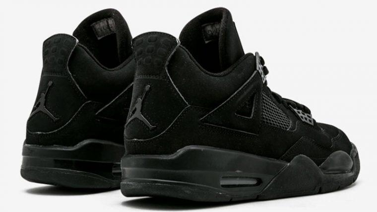 Jordan 4 Black Cat CU1110-010 back thumbnail image