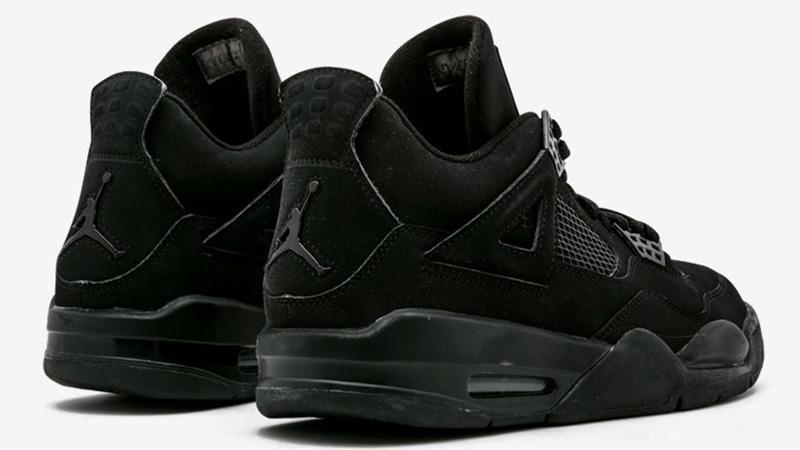 Jordan 4 Black Cat CU1110-010 back