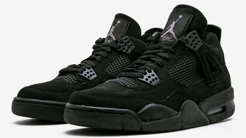 Jordan 4 Black Cat CU1110-010 front