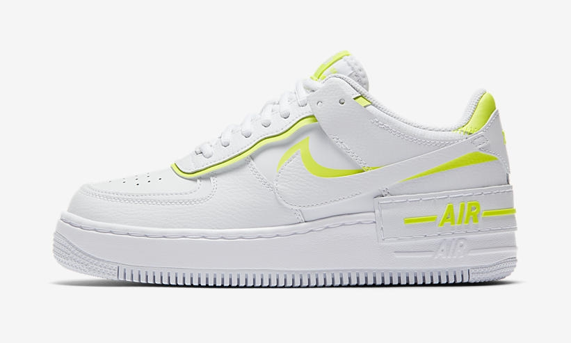 Lemon Venom' Paints The Edges Of This Nike Air Force 1 ...