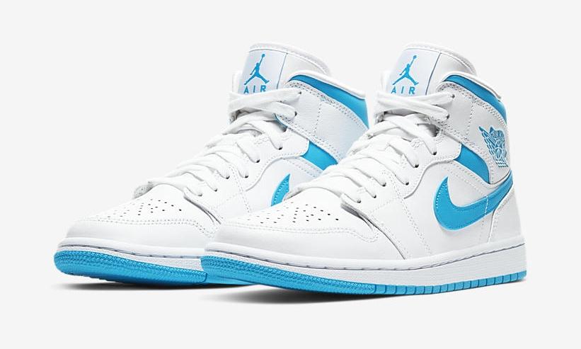 Nike Air Jordan 1 Mid Carolina Blue