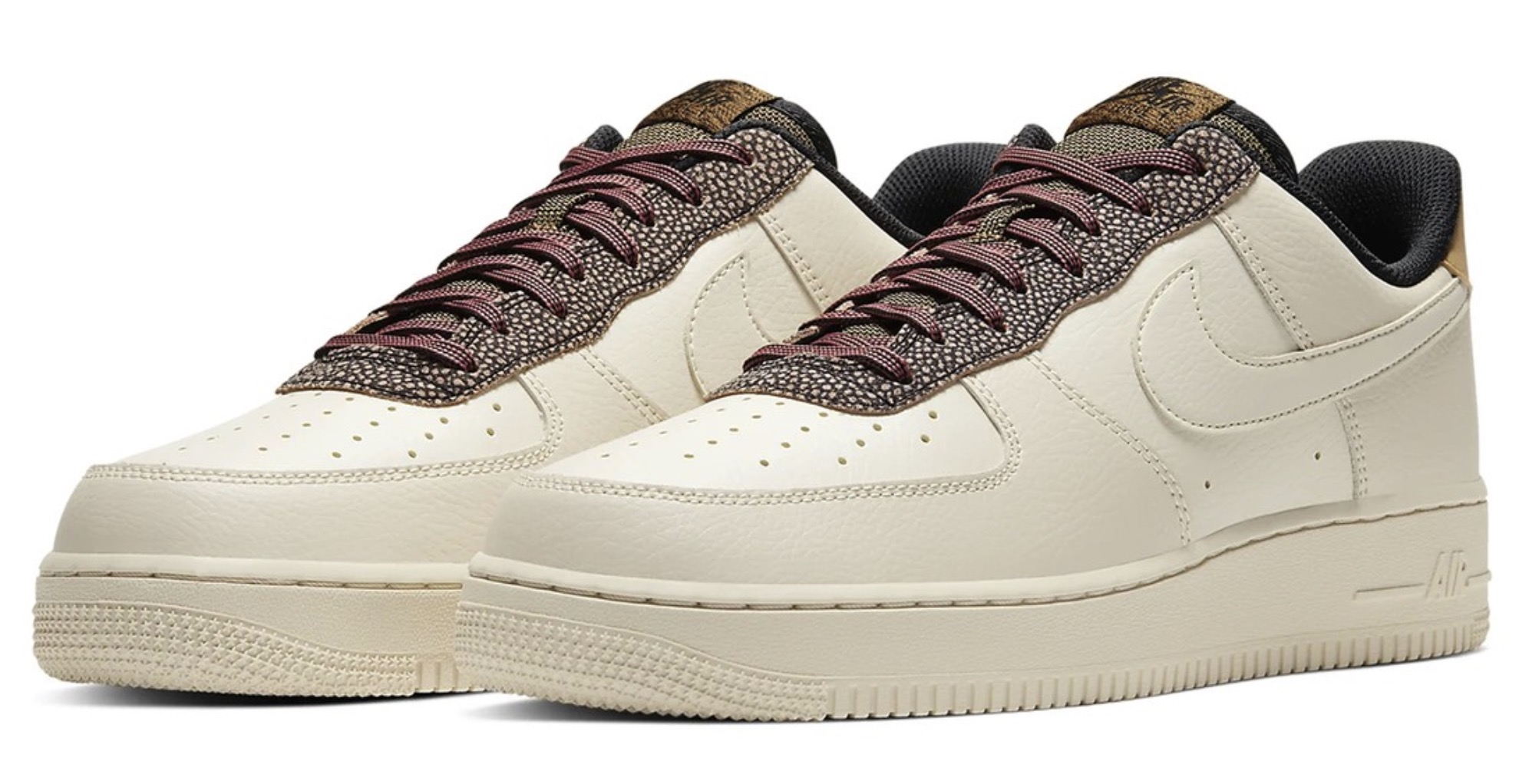 """Nike's Air Force 1 07 in """"Fossil:Wheat:Shimmer"""" 5"""