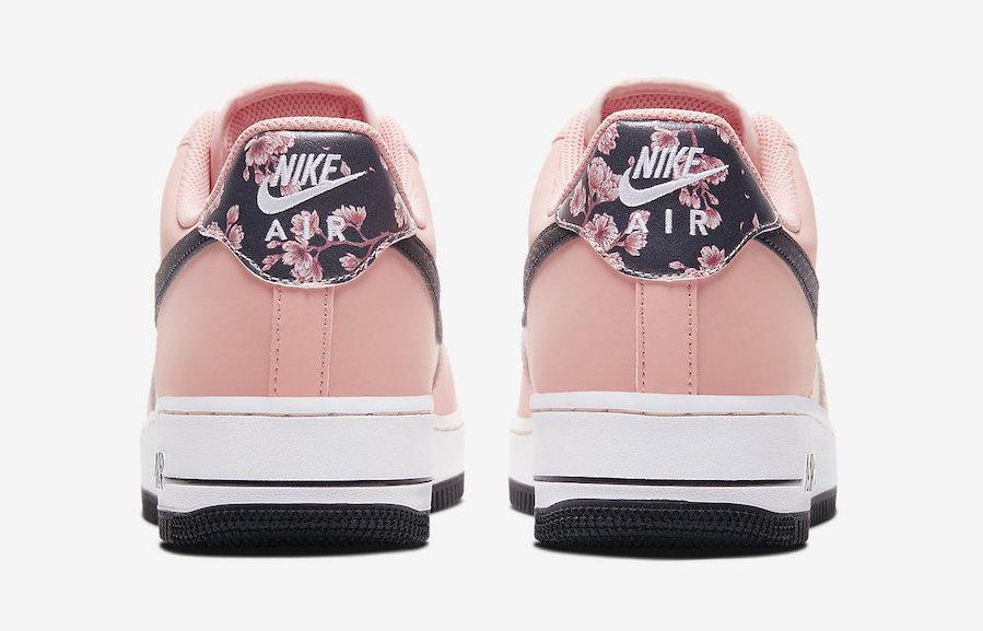Nike Air Force 1 Pink Quartz back