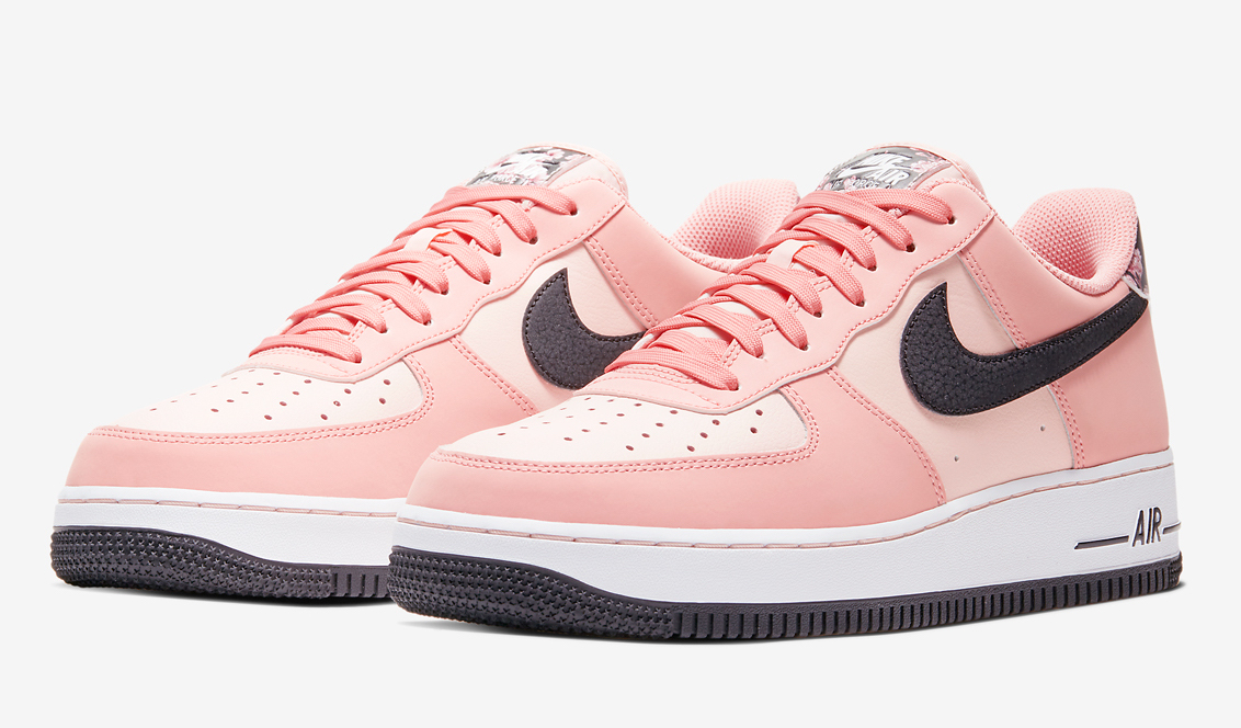 Nike W Air Force 1 07 Premium Pearl Pink & Pink Glaze   END.