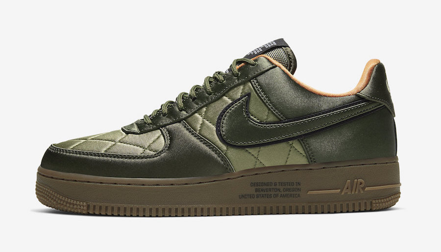 Nike Air Force 1 Quilted Green