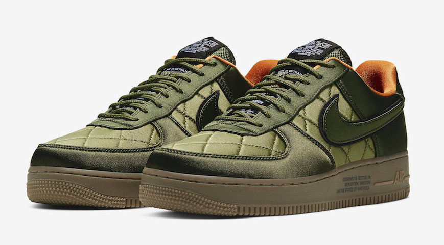 Nike Air Force 1 Quilted Olive