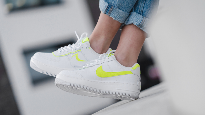 Nike Air Force 1 Shadow Lemon Venom Ci0919 104 The Sole Womens