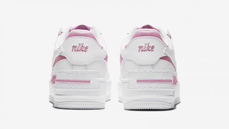 Nike Air Force 1 Shadow Magic Flamingo back thumbnail image