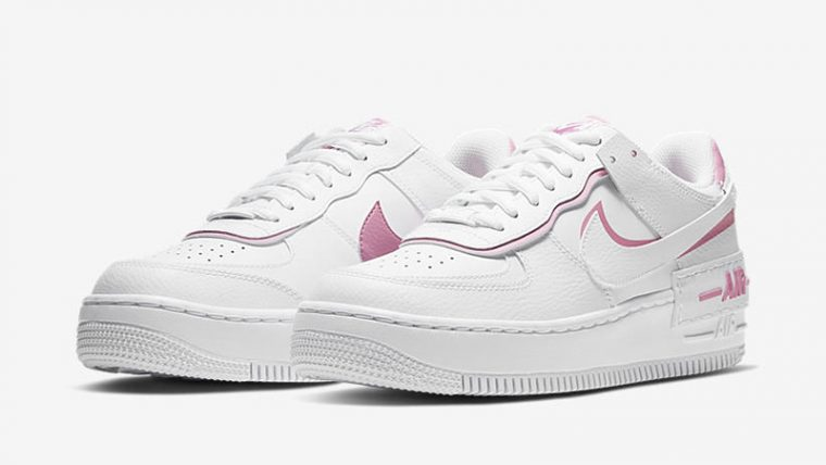 Nike Air Force 1 Shadow Magic Flamingo front thumbnail image