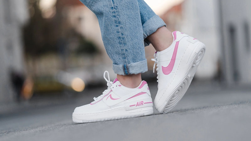 Nike Air Force 1 Shadow Magic Flamingo Ci0919 102 The Sole Womens
