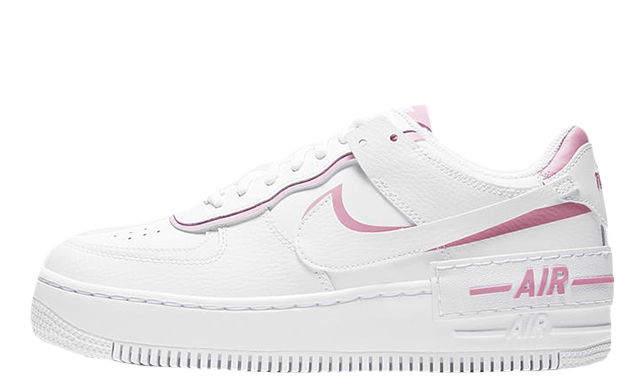 Nike Air Force 1 Shadow Magic Flamingo | The Sole Womens