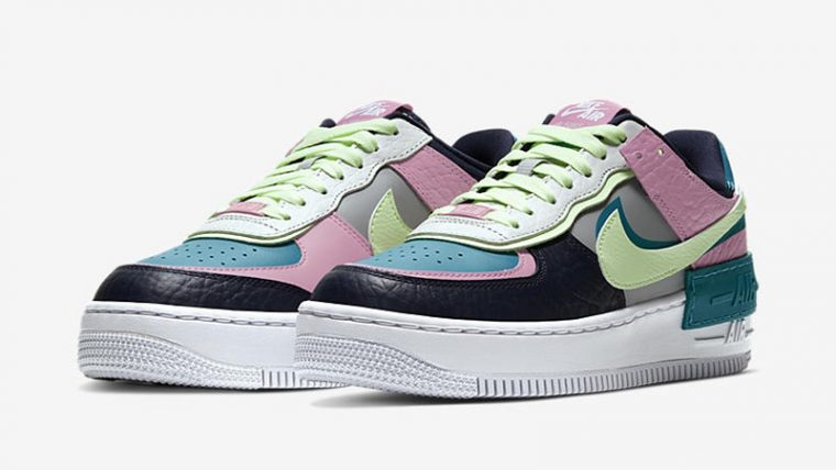 Nike Air Force 1 Shadow Pastel front thumbnail image