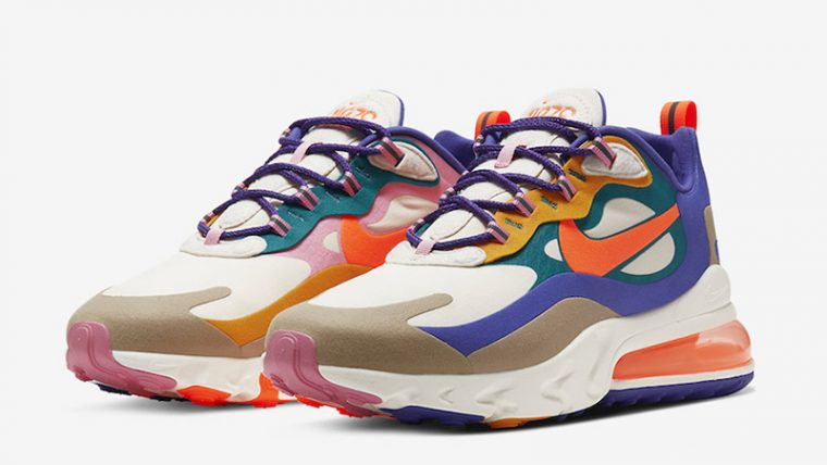 Nike Air Max 270 React ACG Multi front thumbnail image