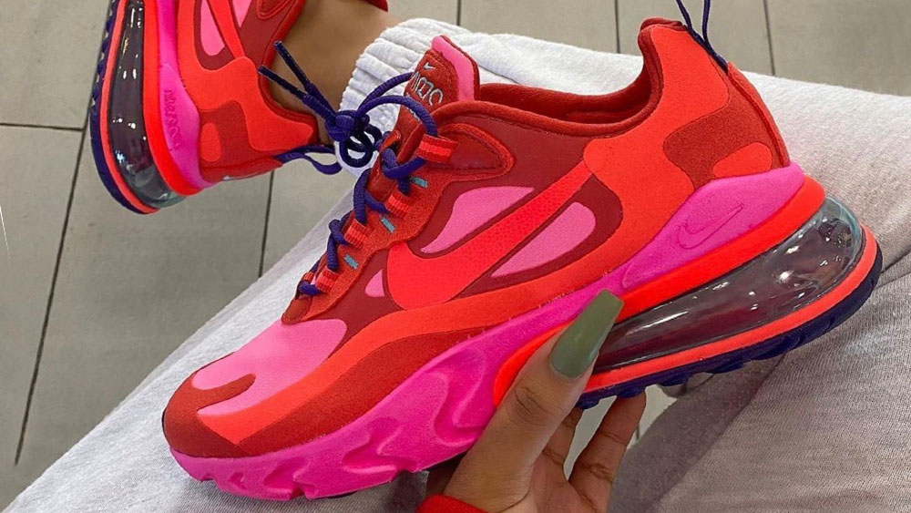 Nike Air Max 270 React Pink Red
