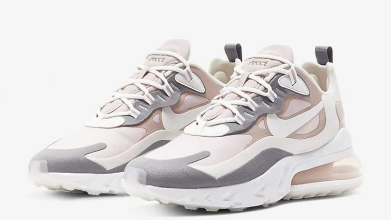 Nike Air Max 270 React Plum Chalk CI3899-500 front thumbnail image