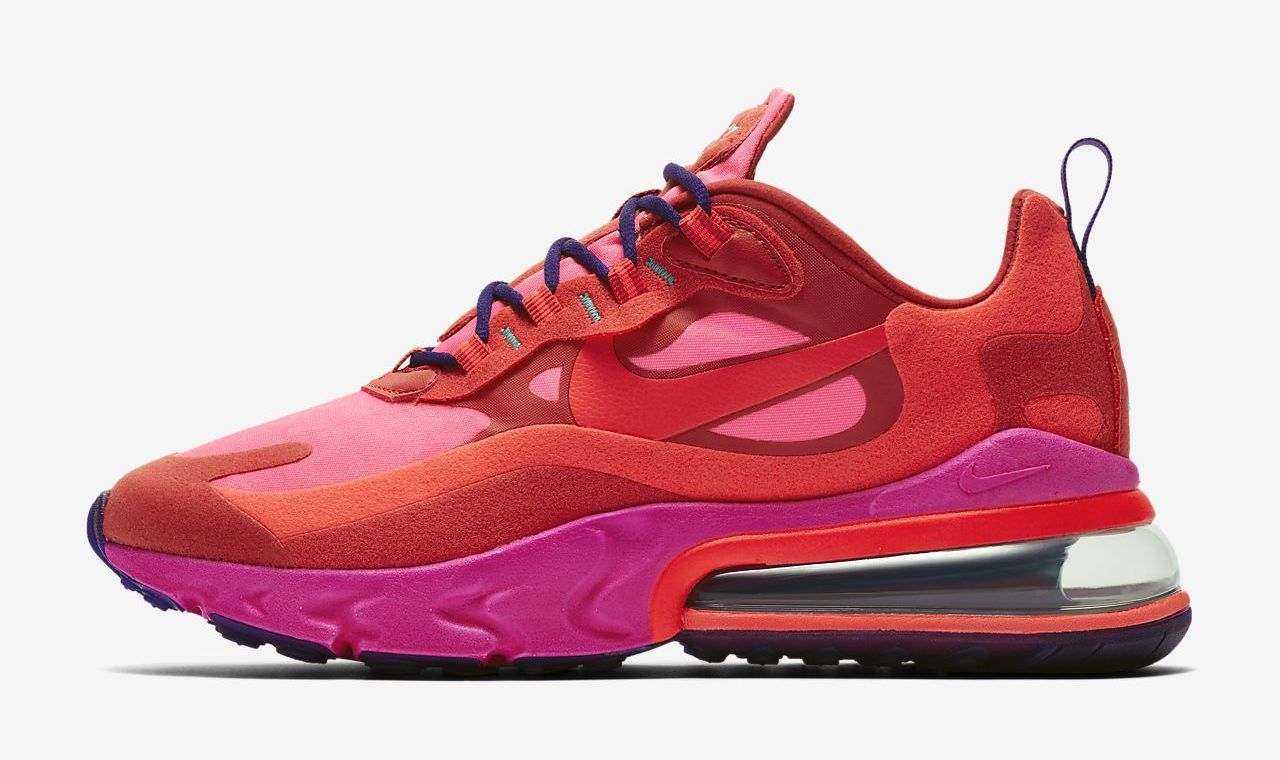 Nike Air Max 270 React red pink