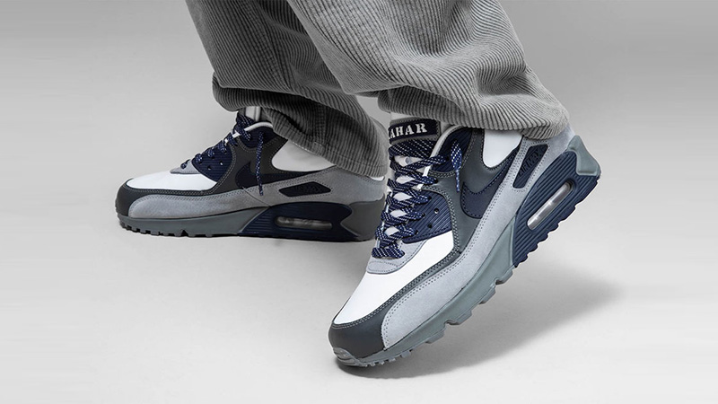 Nike Air Max 90 NRG Lahar Escape White Indigo | CI5646 100