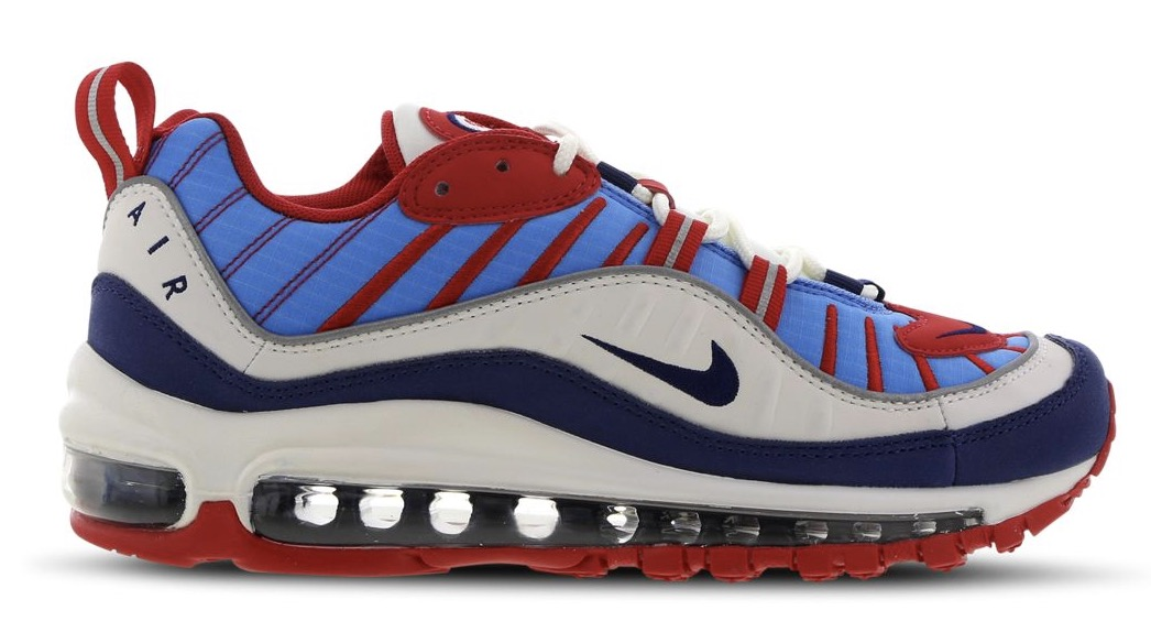 Nike Air Max 98 Red Blue