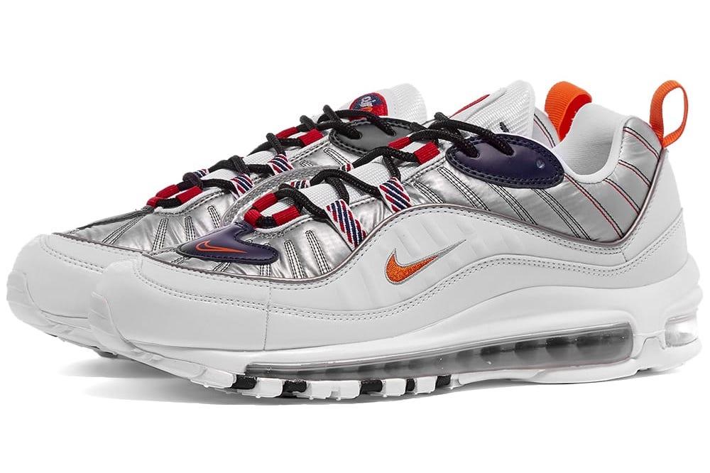 Nike Air Max 98 Silver Blue