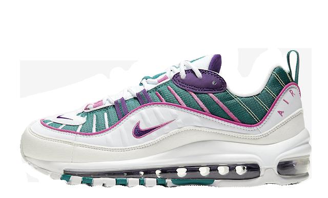 Nike Air Max 98 White Purple CI3709-301