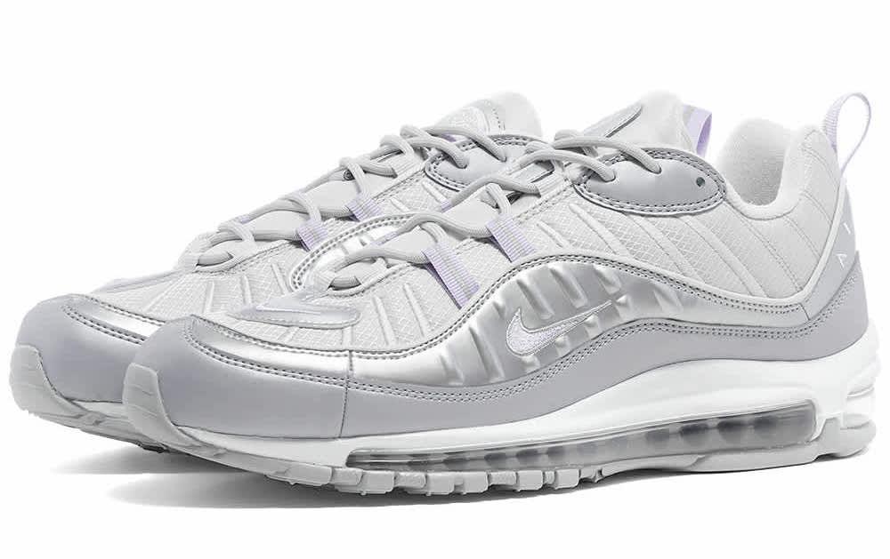 Nike Air Max 98 White Silver