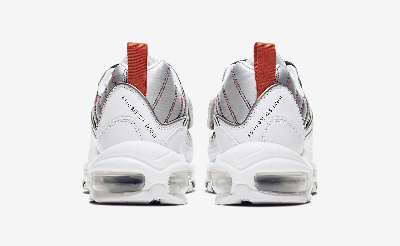 Nike Air Max 98 premium white silver