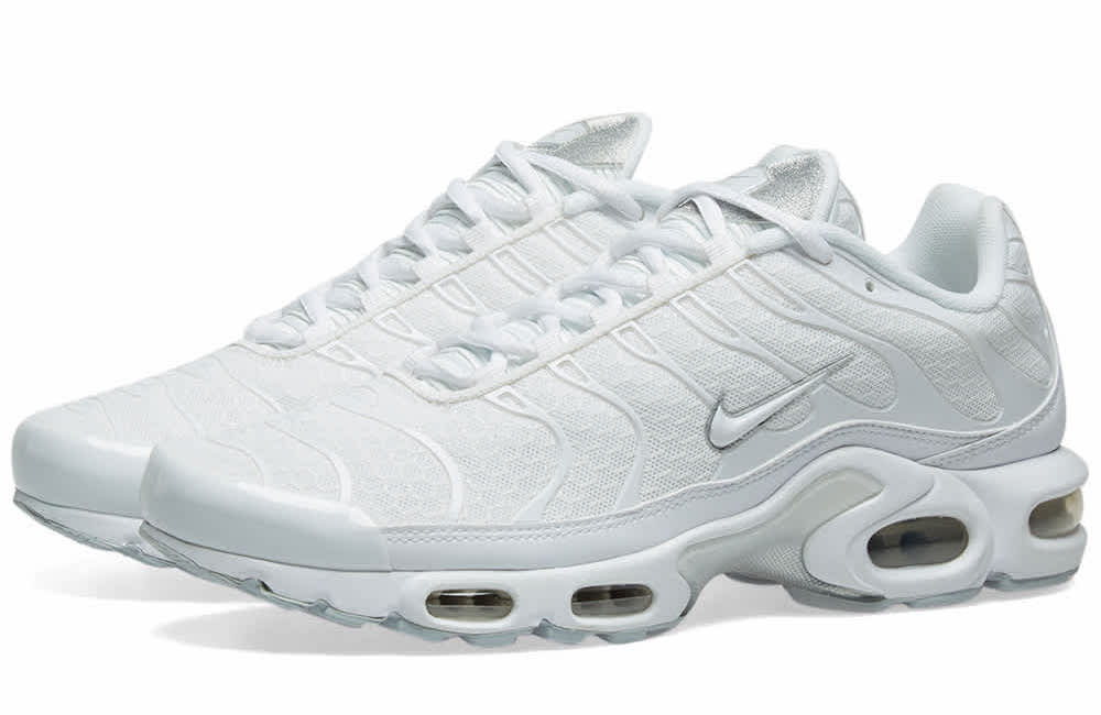 Nike Air Max Plus Silver White