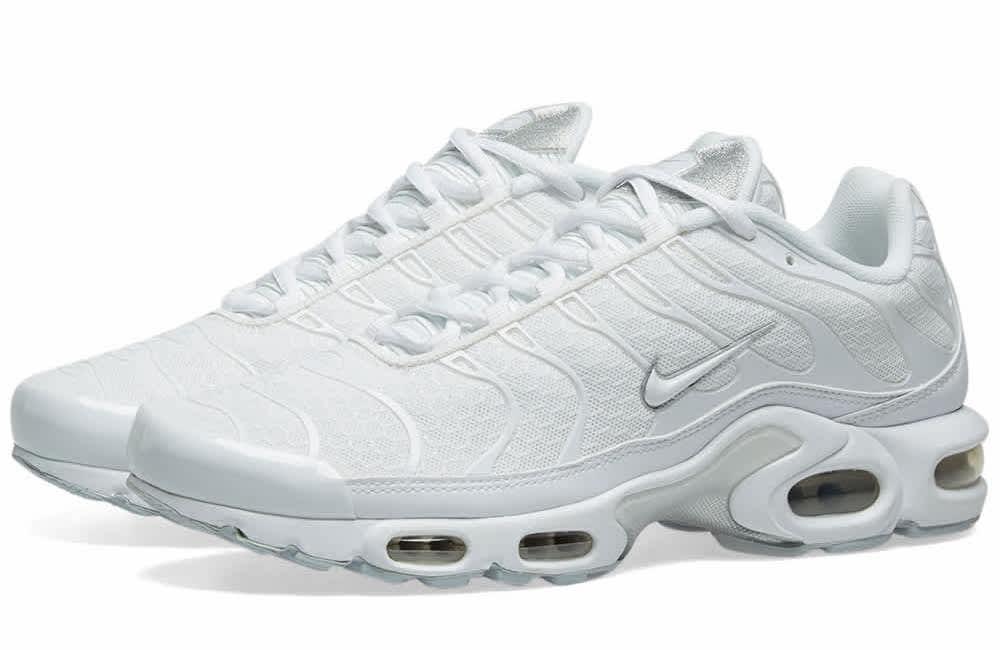Nike Air Max Plus Silver White