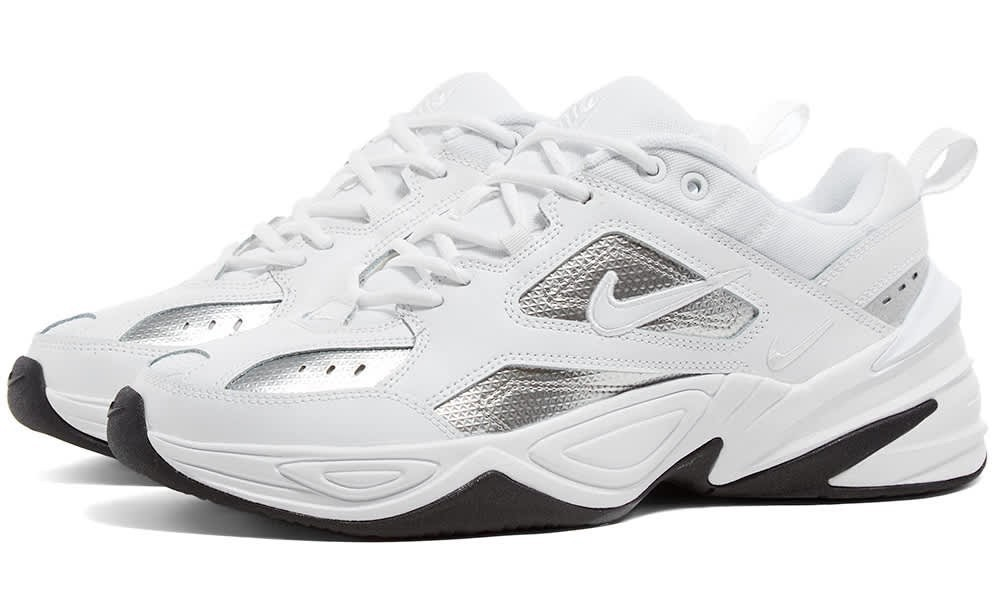 Nike M2K Tekno White Silver.