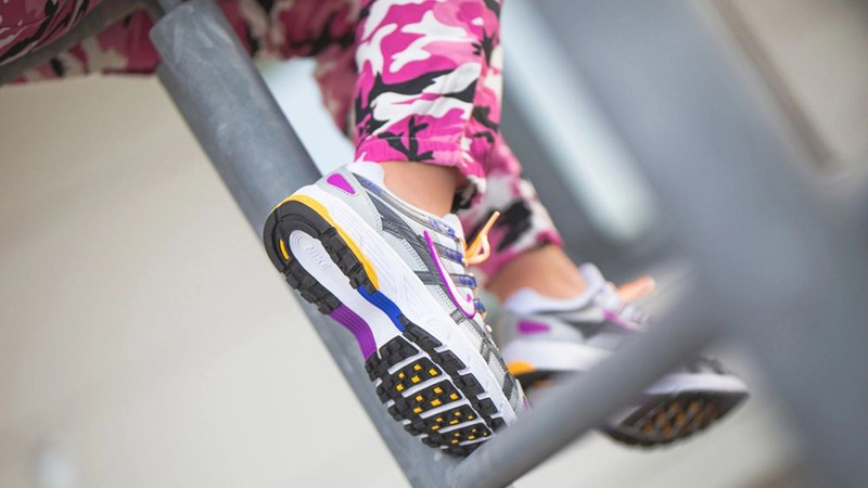 Nike P-6000 Silver Purple BV1021-009 on foot soel