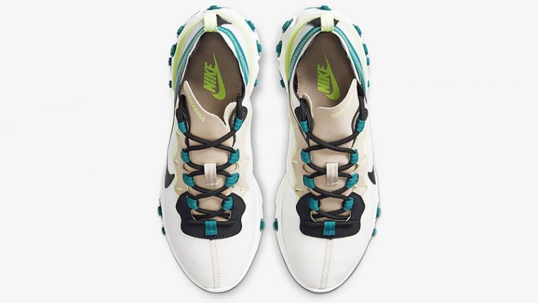Nike React Element 55 Fossil Stone BQ2728-202 middle thumbnail image